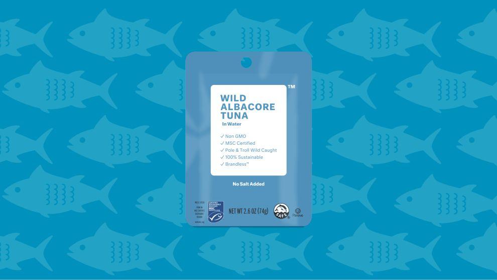 Brandless Tuna Package Design