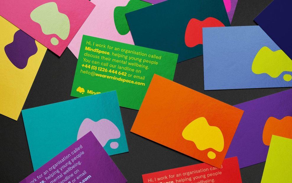 Mindspace Business Cards Print Design