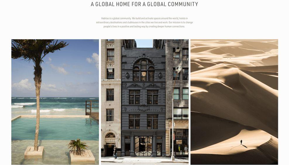 Habitas Fun Website Design