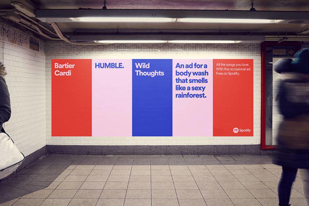 Spotify Subway Print Designs