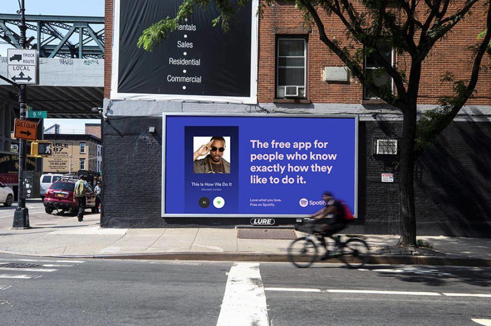 Spotify Billboard Print Design