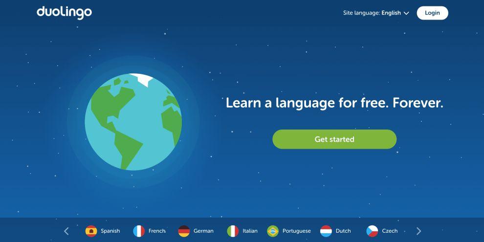 Duolingo Desktop App Design