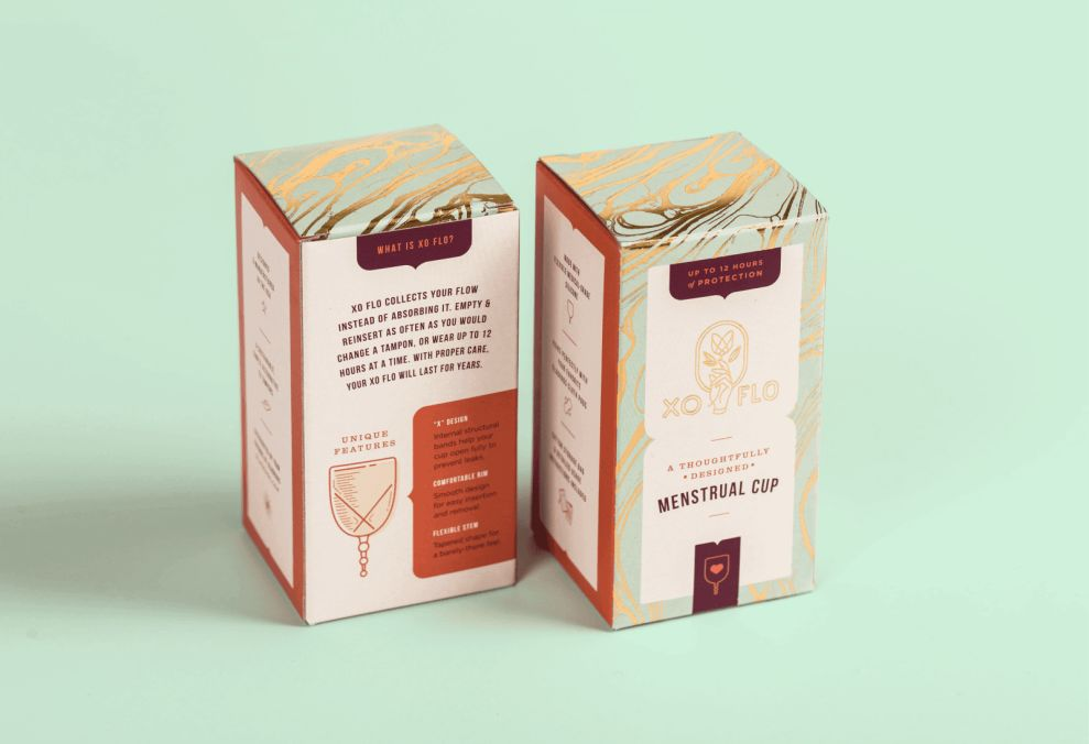 Gladrags Pretty Package Design