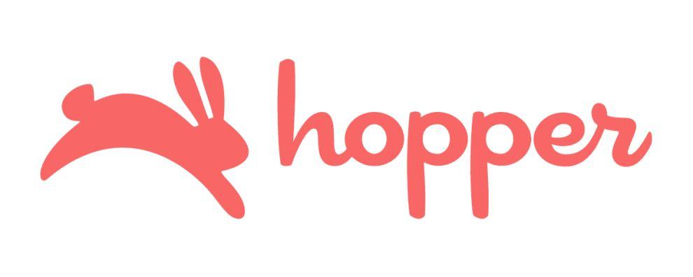 Hopper Cool Logo Design