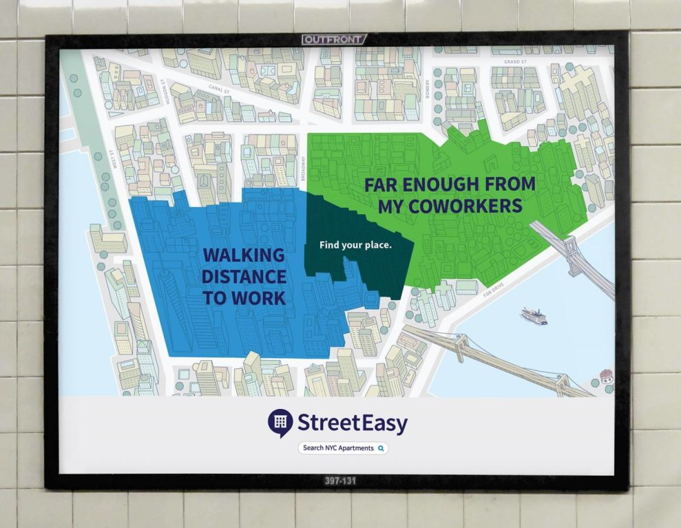 StreetEasy Ad Logo Design