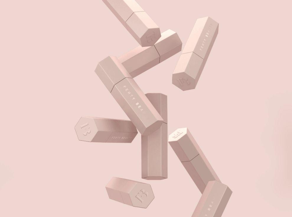 Fenty Beauty Modern Package Design