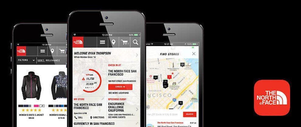 The North Face iOS App Design