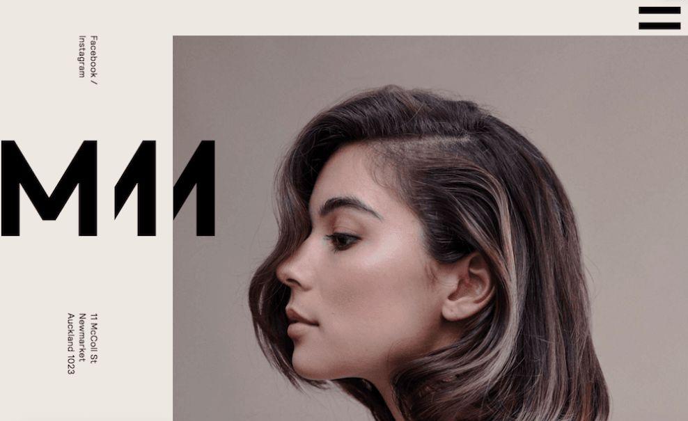 M11 Studio Website Logo Design