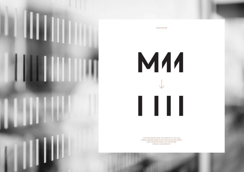 M11 Studio Creative Logo Design
