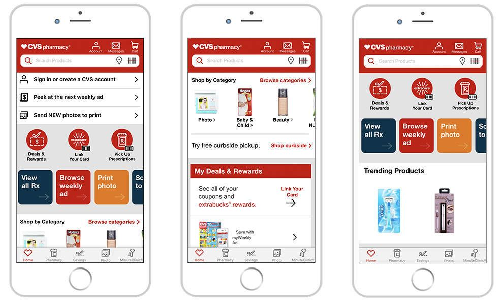 CVS Best App Design
