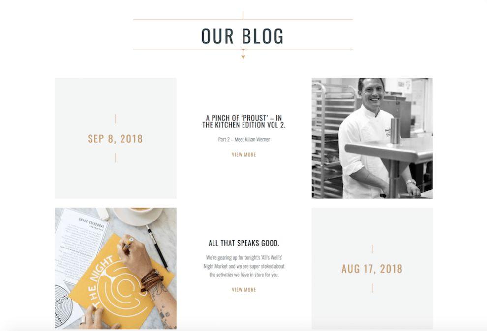 Anchor And Den Pretty Website Design