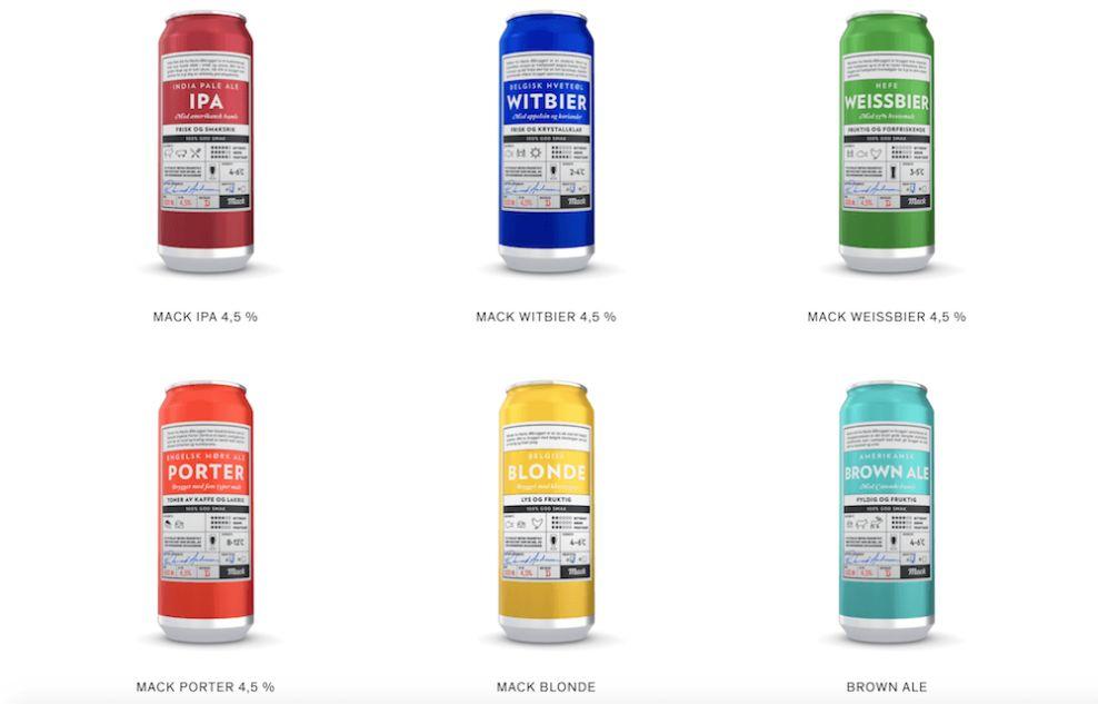 Mack Breweries Innovative Package Design