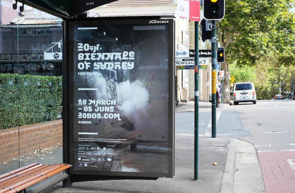 Sydney Biennale Bold Print Design