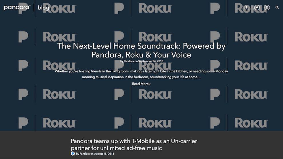 Pandora Bright Website Design