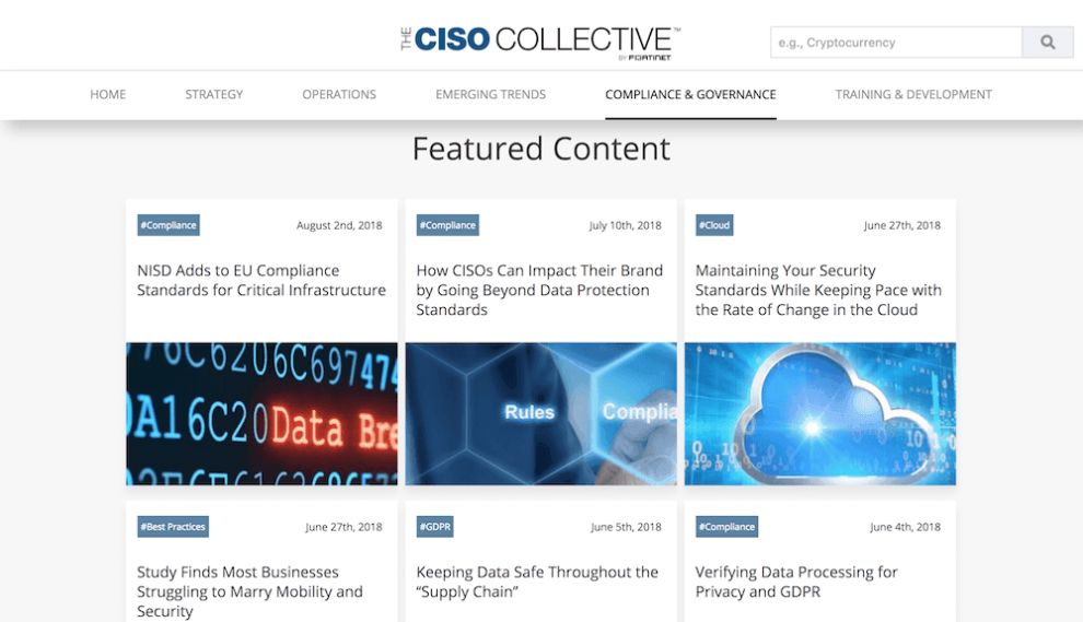 CISO Collective Best Web Design