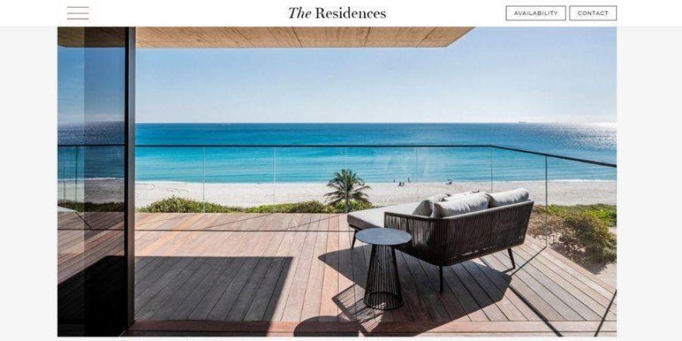 minimalist real estate design