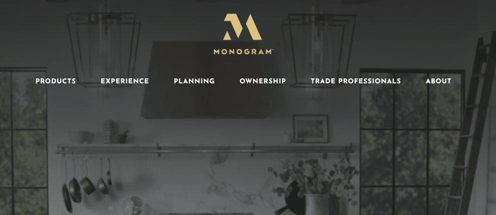 The Monogram Logo's Minimalist And Classy Design Modernizes A Traditionally-Oriented Niche (slide 2)