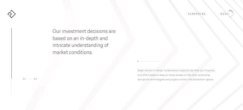 21 capital website white page sidebar screenshot