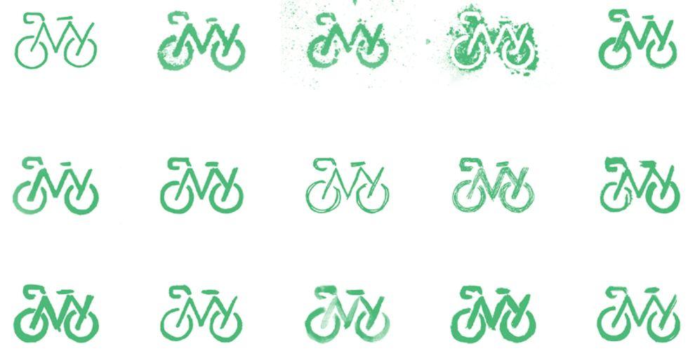 Bike New York's Logo Reflects NYC's Forward-Thinking And Sustainable Mindset (slide 2)