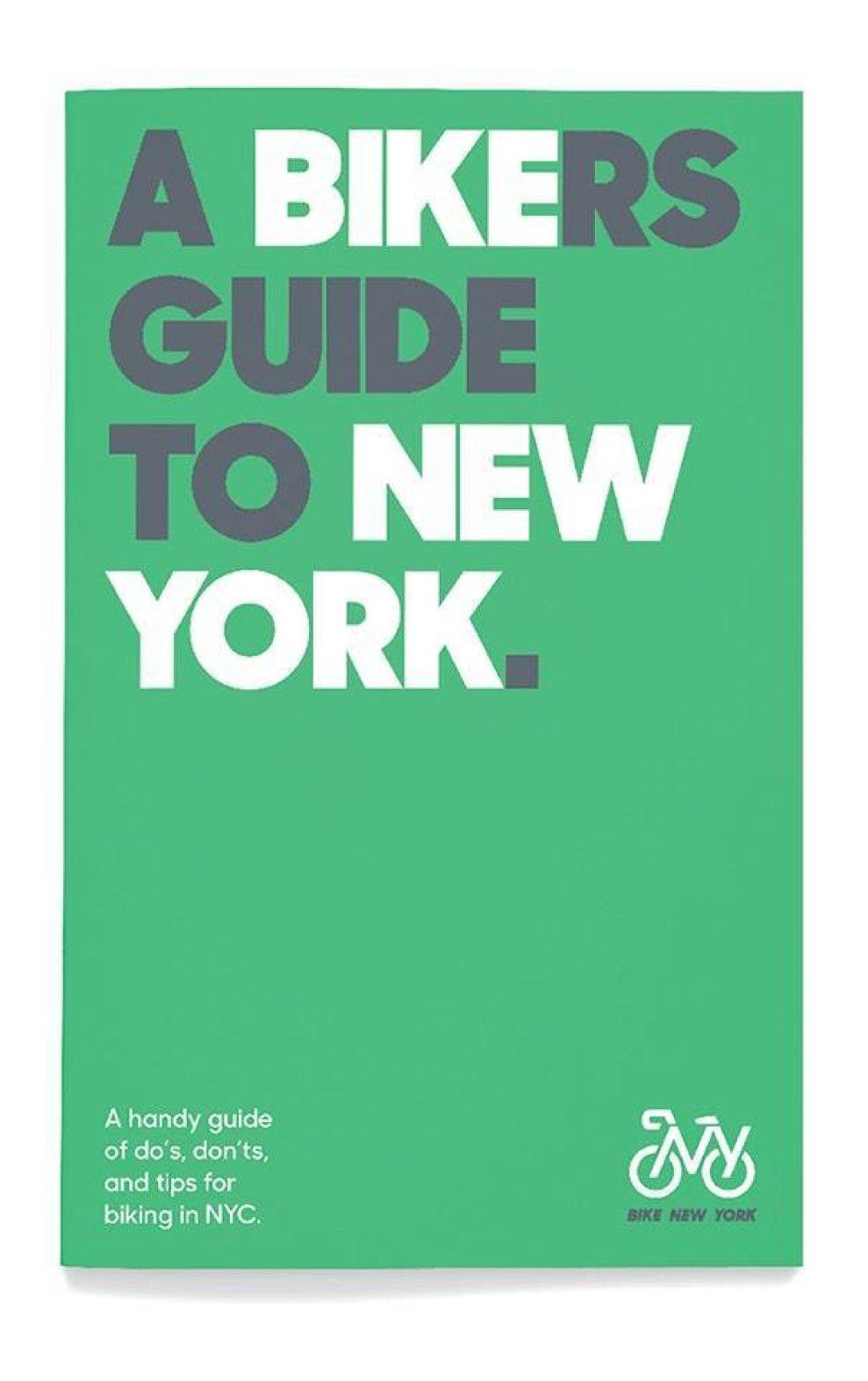 Bike New York's Logo Reflects NYC's Forward-Thinking And Sustainable Mindset (slide 4)