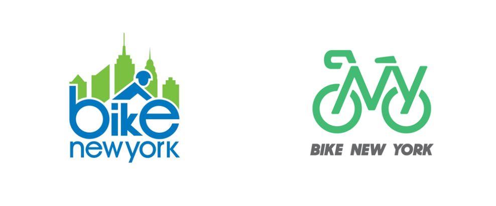 Bike New York's Logo Reflects NYC's Forward-Thinking And Sustainable Mindset (slide 5)