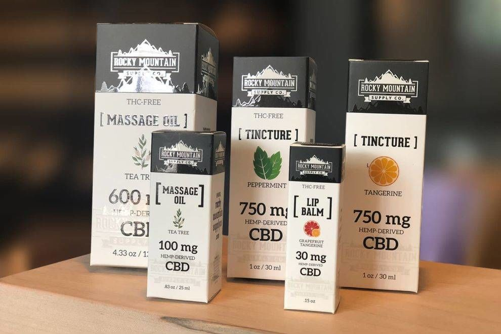 Rocky Mountain Supply Co. packaging design