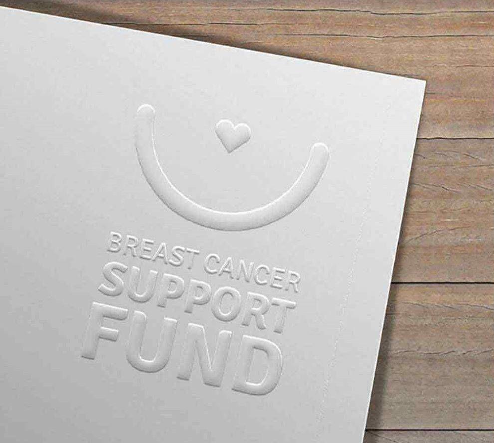 breast cancer support fund logo white