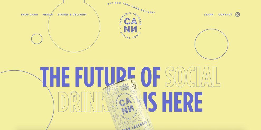 DrinkCann web design