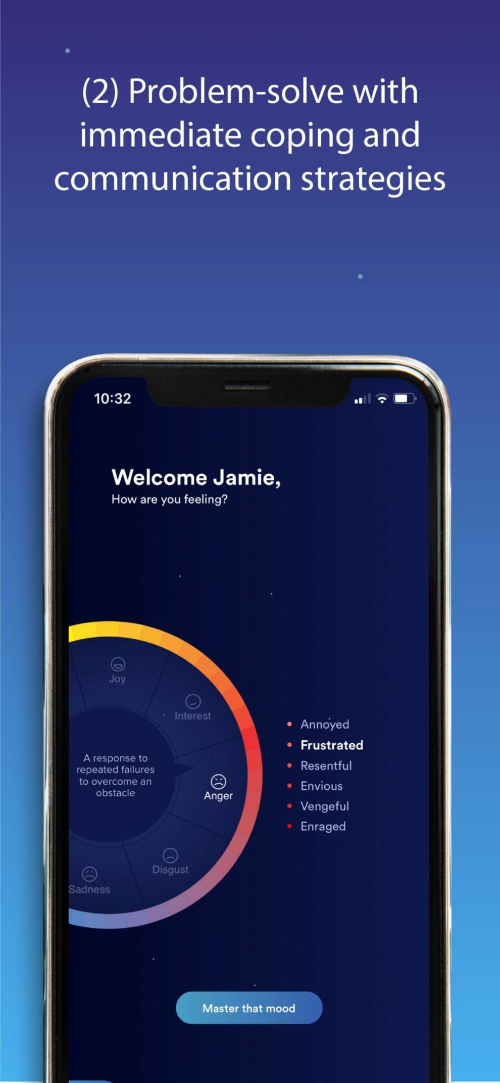 LIFE Intelligence app design