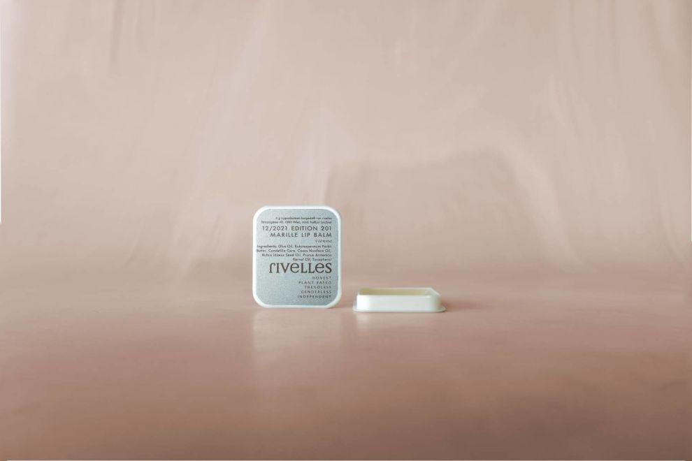 Rivelles package design — lip balm