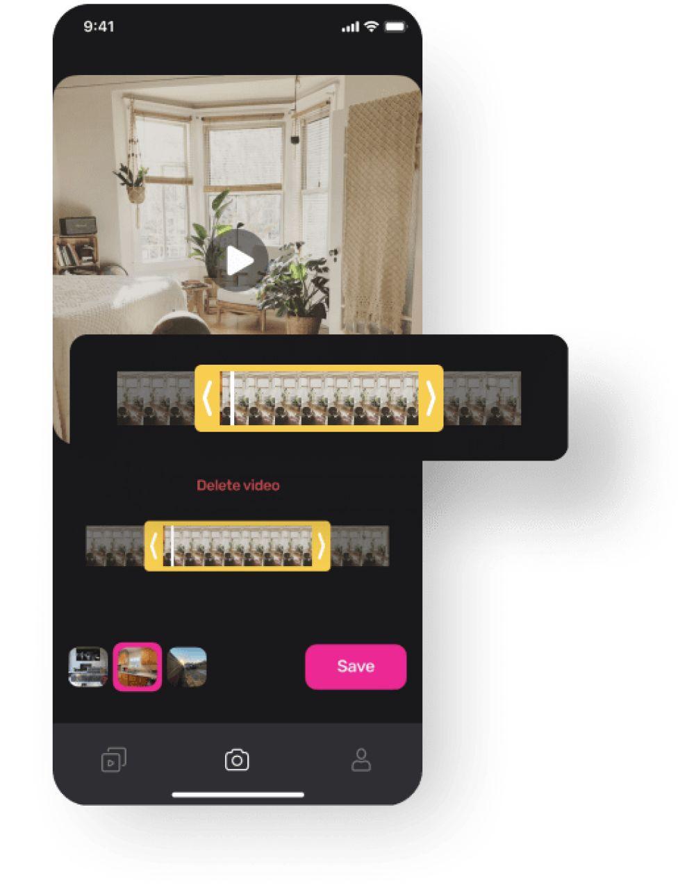 Yaza app design