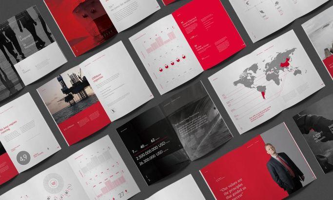 BMS United bulletin print design by Kommi Graphics