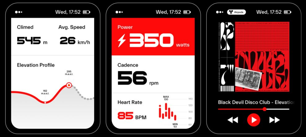 Hey Bicycle app design