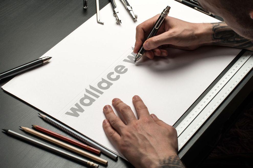 Wallace Whittle logo design by Launch Digital agency