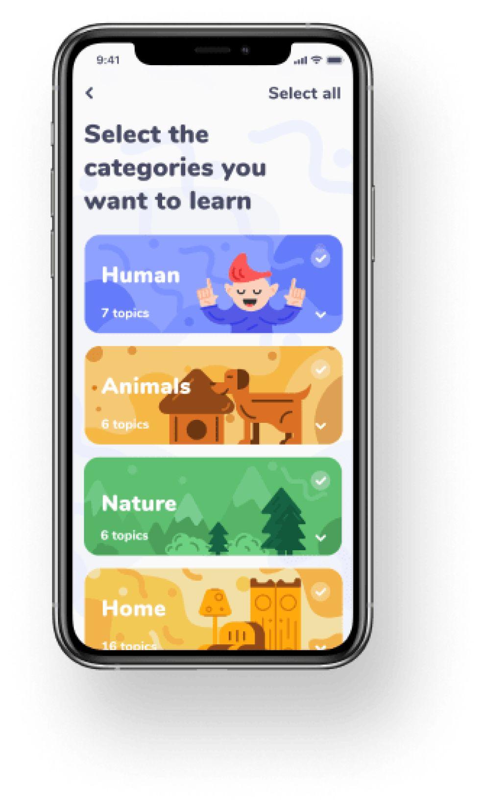 Akler app design