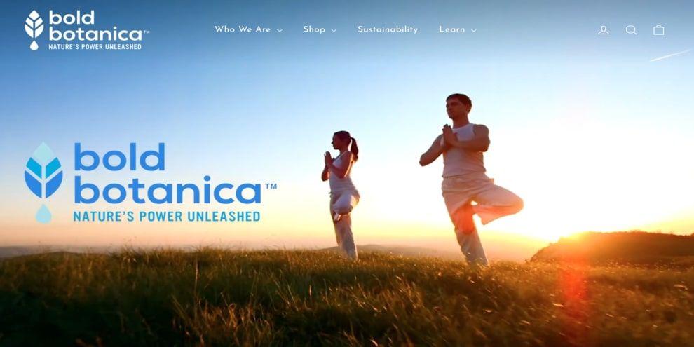 Bold Botanica's homepage