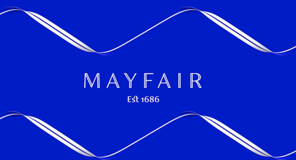 Mayfair print design by Someone in London