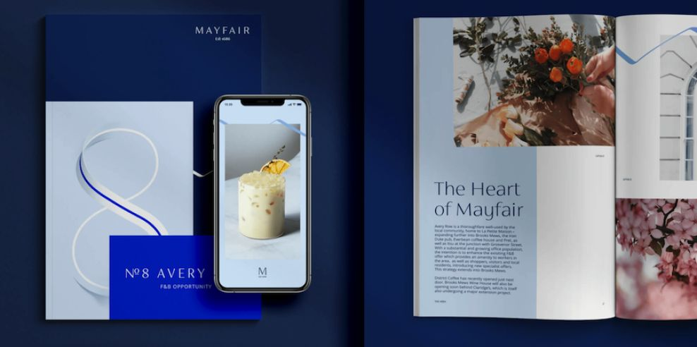 Mayfair print design materials