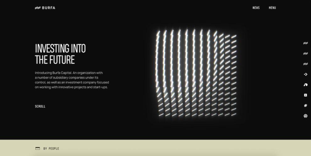 Burfa website design by Zgraya Studio