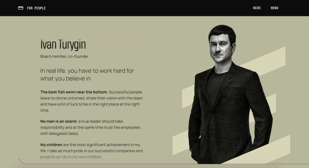 Burfa website design by Zgraya