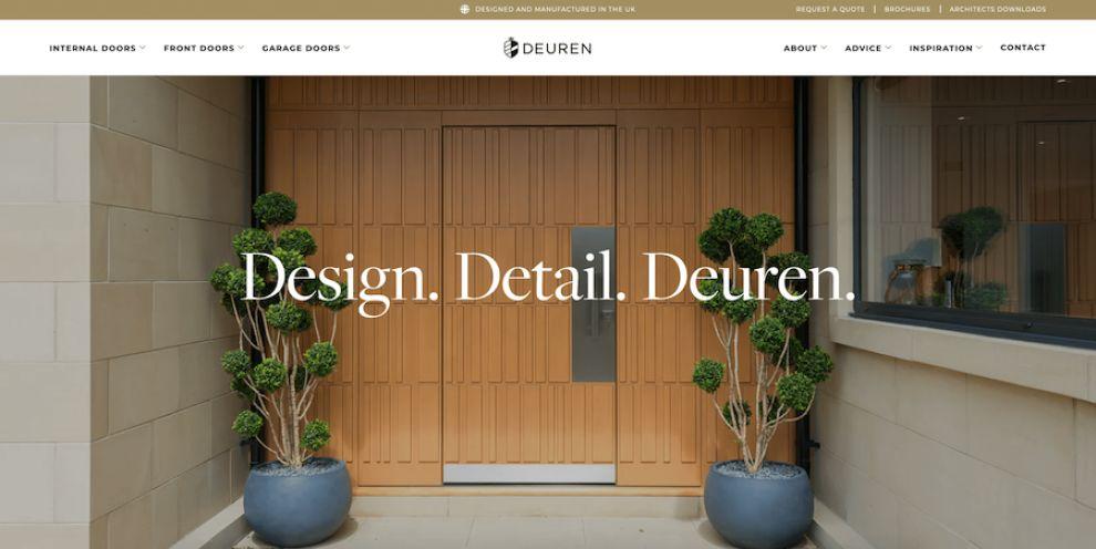 Deuren website design
