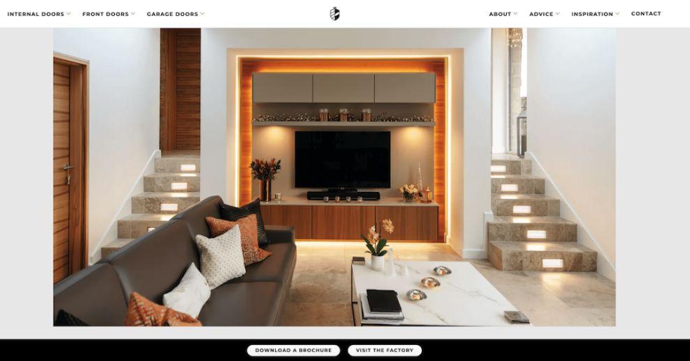 Deuren web design