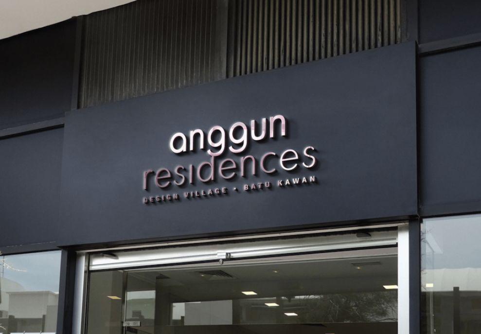Anggun Residences logo