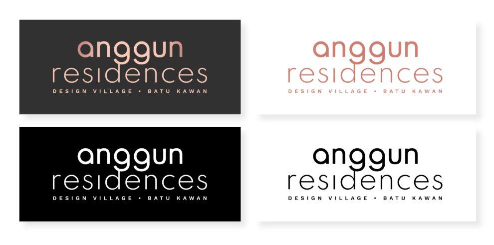 Anggun Residences logo variety