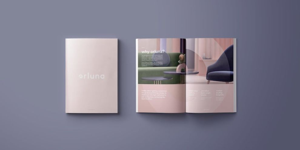 Orluna print design