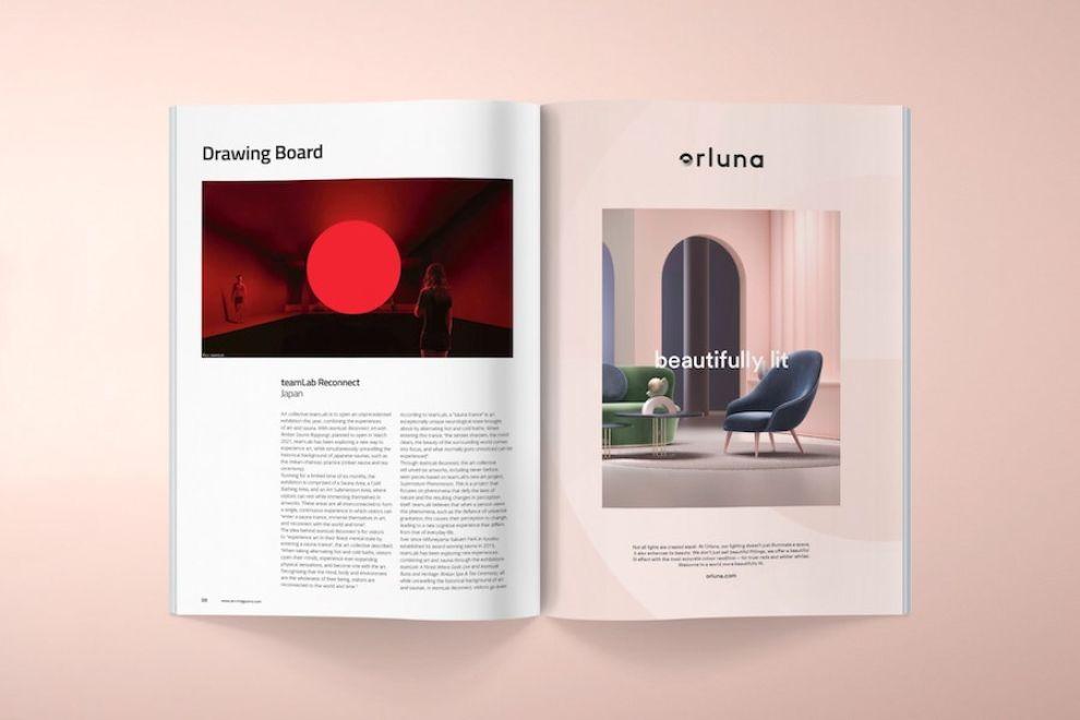 Orluna print inside pages