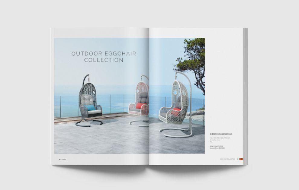 Osmen brochure print design