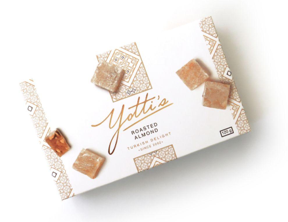Yotti's Turkish Delight Package Design