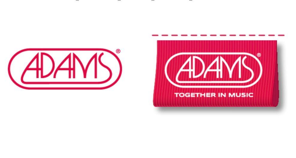 Adams Together in Music logo design vs Adams original logo design