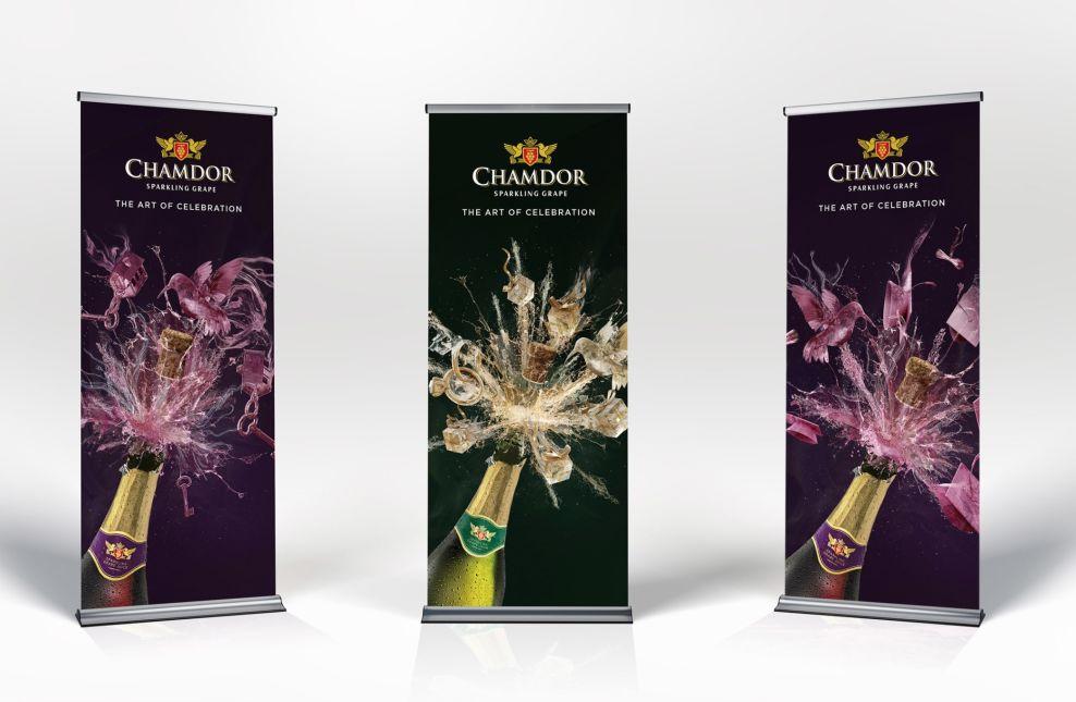 Chamdor Nigeria Print Design on banners